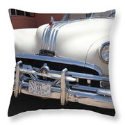 Route 66 - Classic Car Throw Pillow