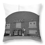 Route 66 - Coliseum Ballroom Throw Pillow