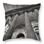 Royal Exchange London Throw Pillow