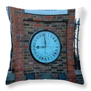 Royal Observatory Grenwich  Throw Pillow