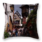 Rudesheim Throw Pillow