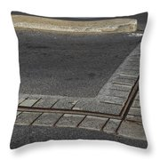Ruins Of Original Fortifications Montreal Throw Pillow