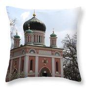 Russian Church Throw Pillow