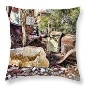 Rustbucket  Throw Pillow