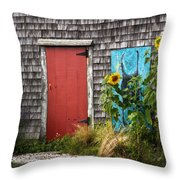 Rustic Cape Cod Throw Pillow