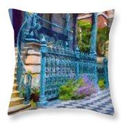 Rutledge House Inn Throw Pillow