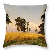 Rye Throw Pillow