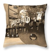 Safeco Field - Seattle Mariners Throw Pillow