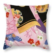 Sagi No Mai Throw Pillow