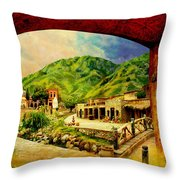 Saidpur Village Throw Pillow