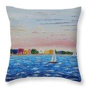 Sailing Takes Me Away Throw Pillow