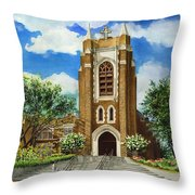 Saint Andrews Episcopal Church Bryan Texas Throw Pillow