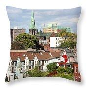 Saint John New Brunswick Throw Pillow