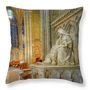 Saint Patricks Cathedral Throw Pillow