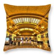 Saint Paul Union Depot Throw Pillow