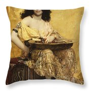 Salome Throw Pillow