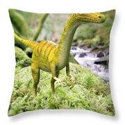Saltopus Throw Pillow