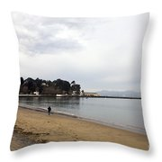 San Francisco Maritime National Historical Park Throw Pillow