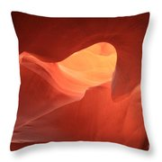 Sandstone Abyss Throw Pillow