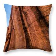 Sandstone Varnish Cliff - Coyote Gulch - Utah Throw Pillow