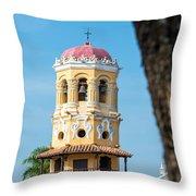 Santa Barbara Church Throw Pillow