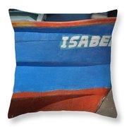 Santa Rosalia Harbor 12 Throw Pillow