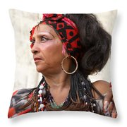 Santeria Woman Throw Pillow