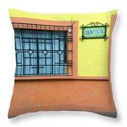 Santiago De Quer�taro, Mexico Throw Pillow