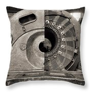 Santrallstanbul Power Plant In Istanbul Throw Pillow