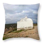 Santuary In Cape Edge Throw Pillow