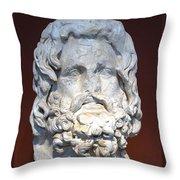 Sarapis Throw Pillow