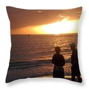 Sarasota Sunset Throw Pillow