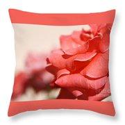 Scarlet Thread Throw Pillow