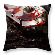 Scene Of The Crime Throw Pillow by Edward Fielding