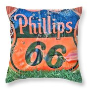 Scenes From An Antique Store In South Dakota Throw Pillow