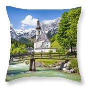 Scenic Bavaria Throw Pillow
