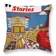 Science Fiction Cover, 1934 Throw Pillow