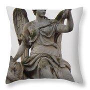 Sculpture Versailles Throw Pillow