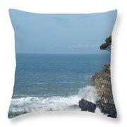 Sea Coast Throw Pillow
