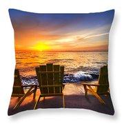 Sea Dreams II Throw Pillow