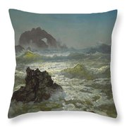 Seal Rock California Throw Pillow