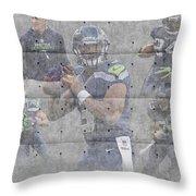 Seattle Seahawks Team Throw Pillow