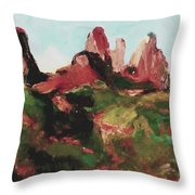 Sedona 89a Uptown Throw Pillow