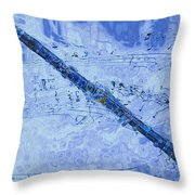 See The Sound 2 Throw Pillow