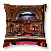 Senate Chamber Throw Pillow