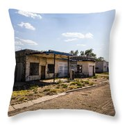 Service Station 4 Throw Pillow