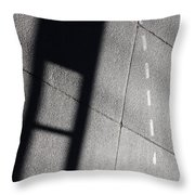 Seven Street Throw Pillow