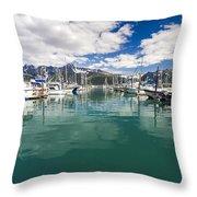 Seward Harbor Throw Pillow