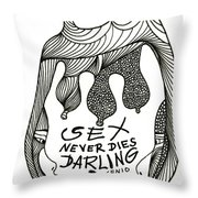 Sex Lives Throw Pillow