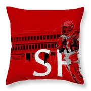 Sfu Art Throw Pillow by Catf